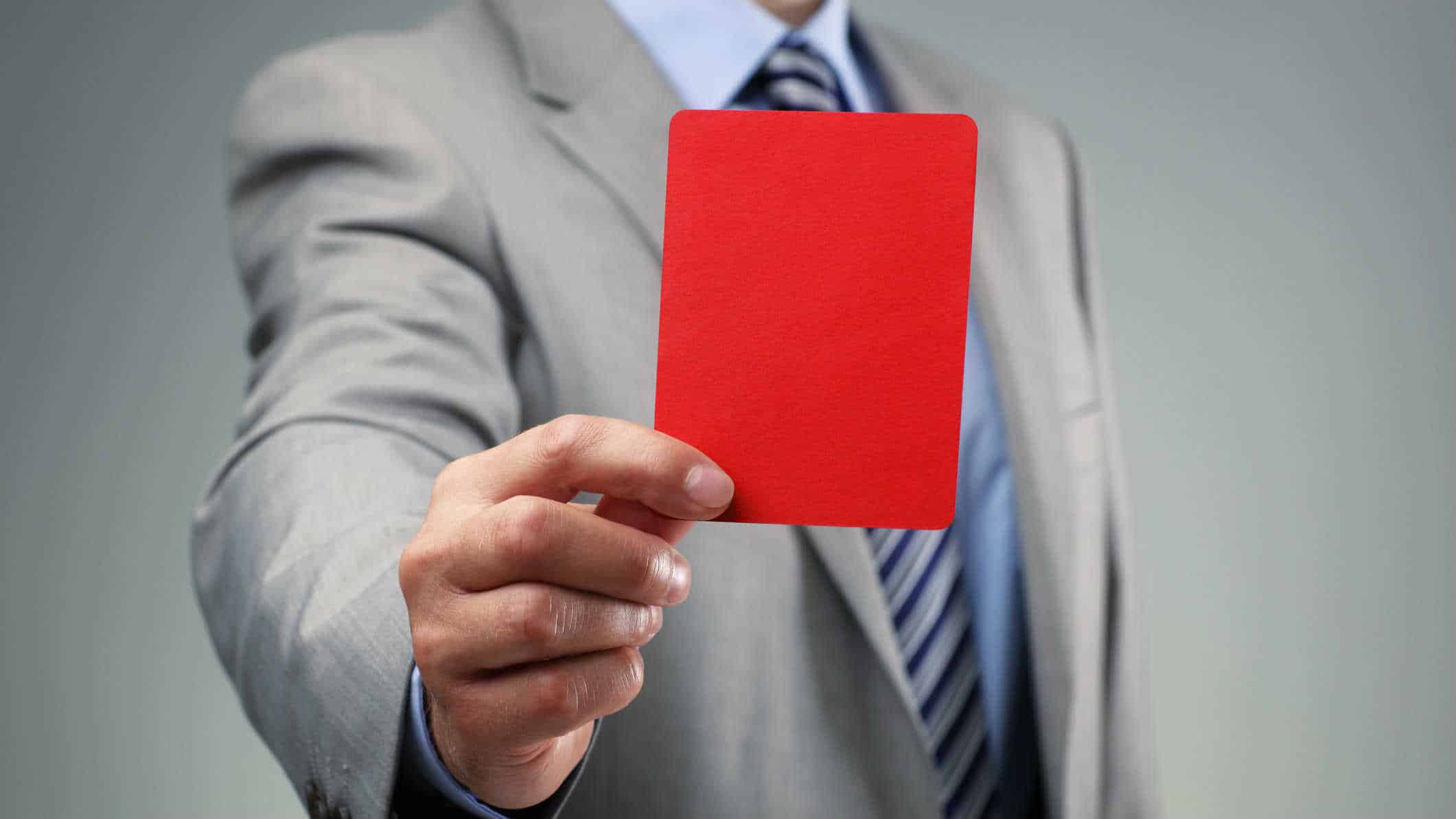 punished, punishment, red card
