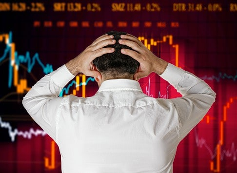 broker stock market crash