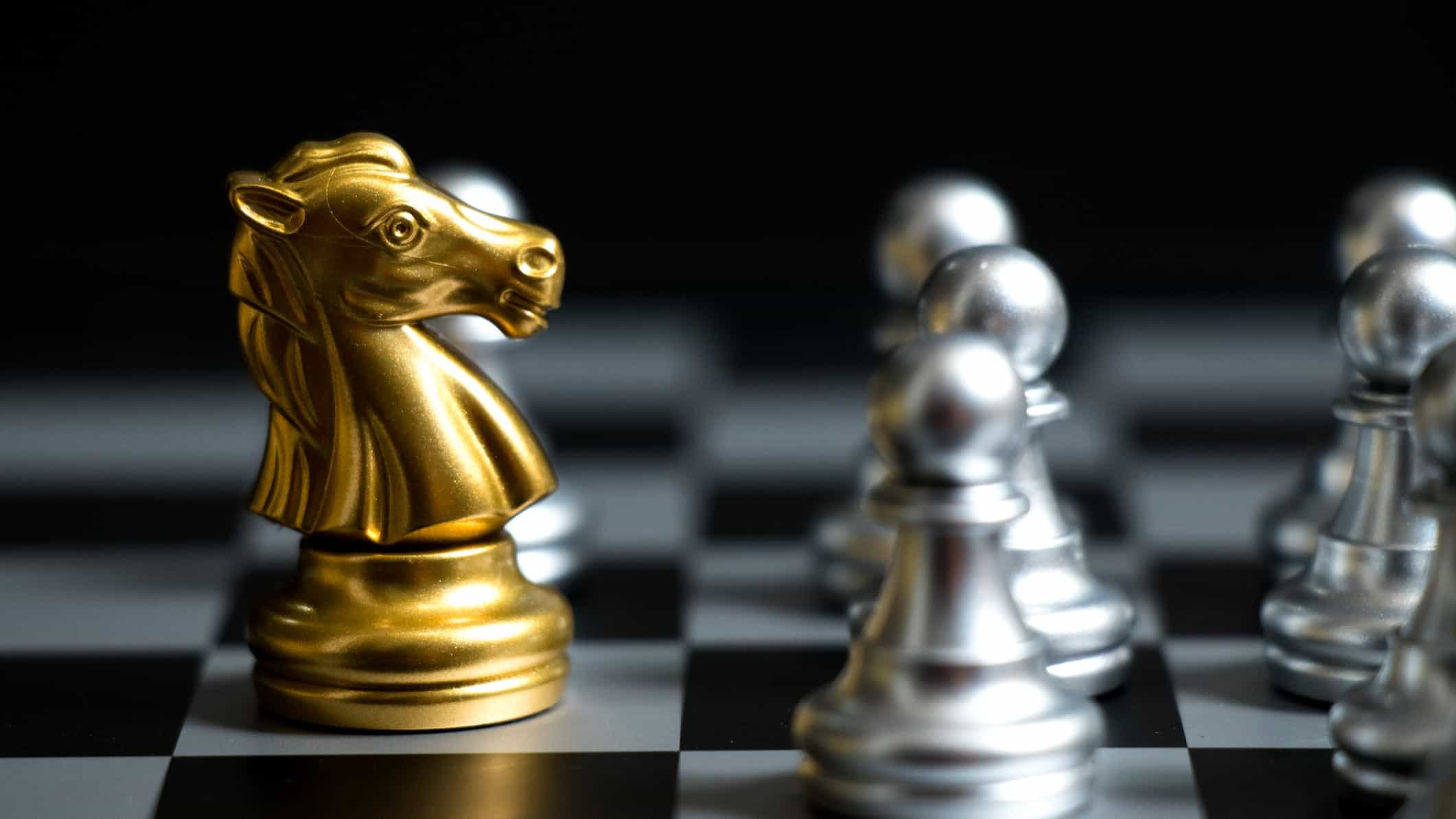 Chess competitive investment strategies