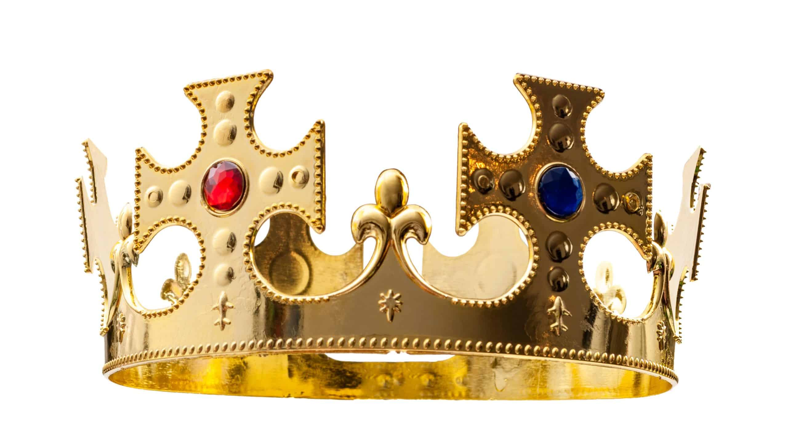 bejewelled crown representing asx dividend king