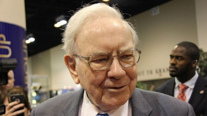 Investor Warren Buffett