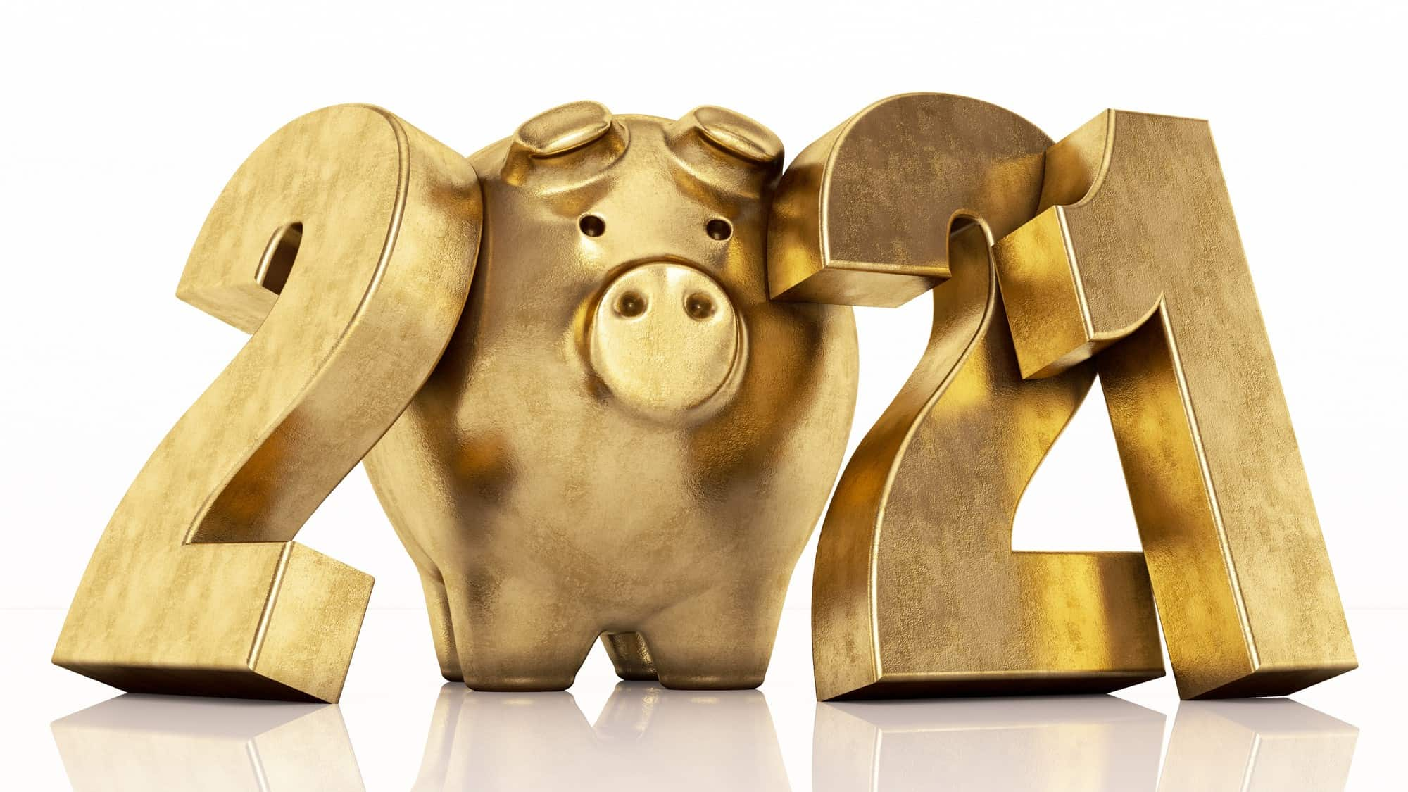best asx 200 shares of financial year 2021 represented by 2021 formed with gold piggy bank