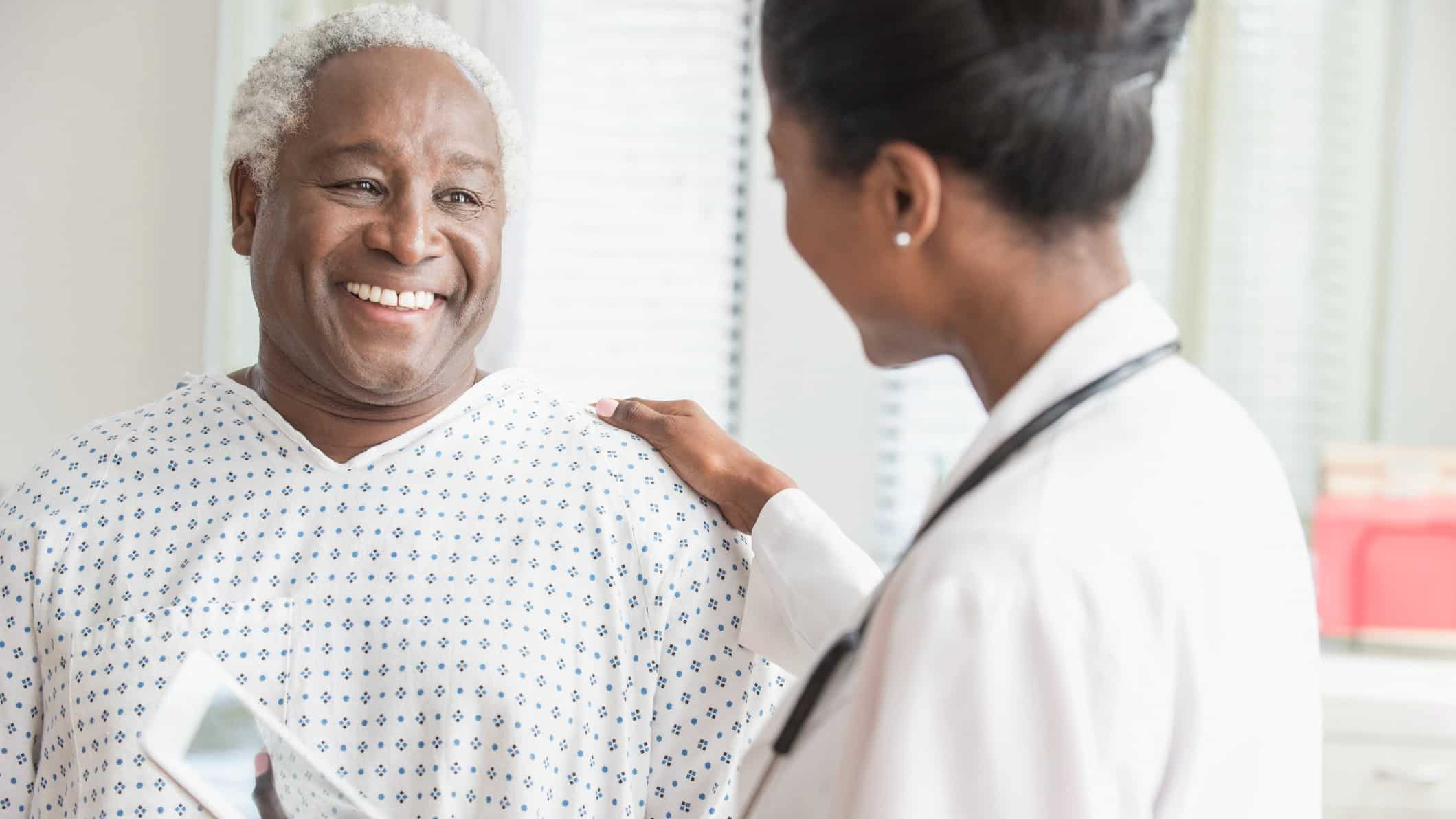 patient with doctor, medical company, medical insurance