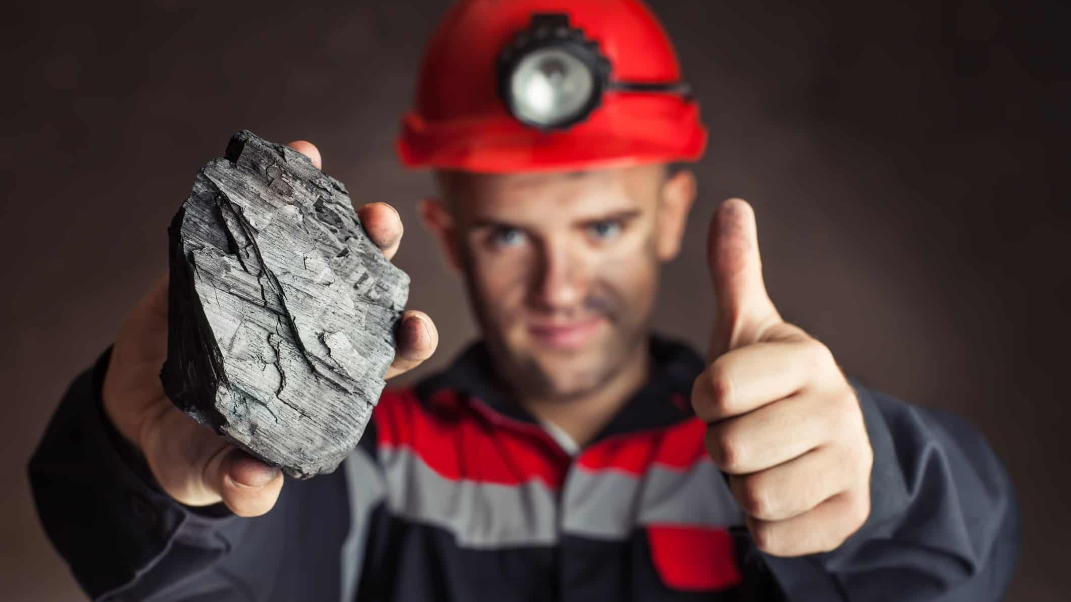 New Hope share price ASX mining shares buy coal miner thumbs up